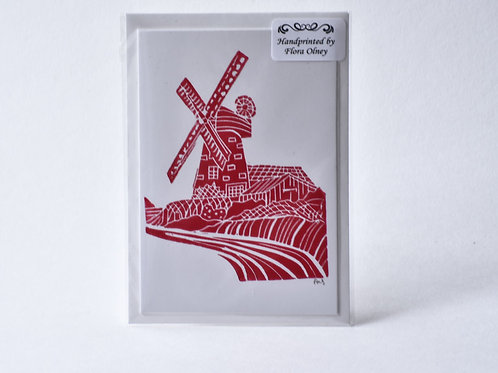 Windmill Greetings Card