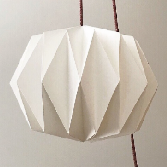Making your own Origami Lampshade
