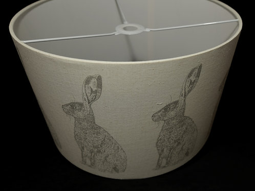 Lampshade - Hare by Lottie Day
