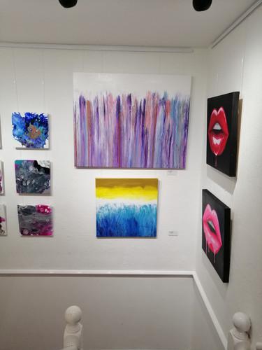 Downstairs Art!