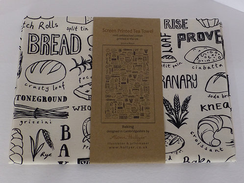 Tea Towel - Baking Cream