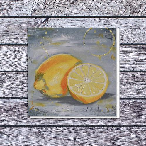 Lemons Card by Laura Beardsell-Moore