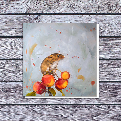 Cherry picked Card by Laura Beardsell-Moore