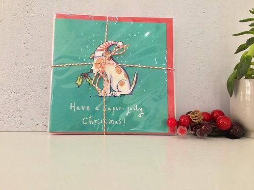 Christmas Greetings Card (set of 6)