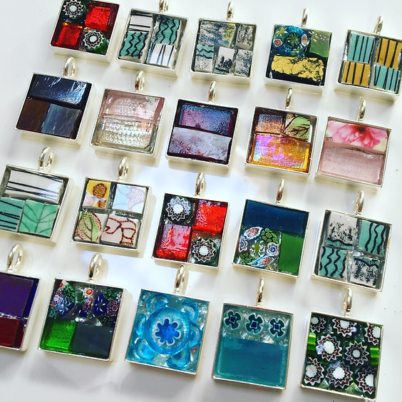 Make mosaic jewellery with artist Anne Cardwell