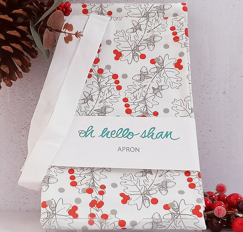 Holly Apron by Oh hello shan