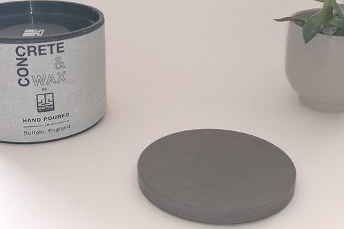 Concrete Coaster (Grey) Set of 4