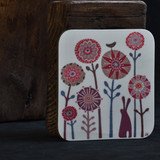 Brown Hare Garden Coaster