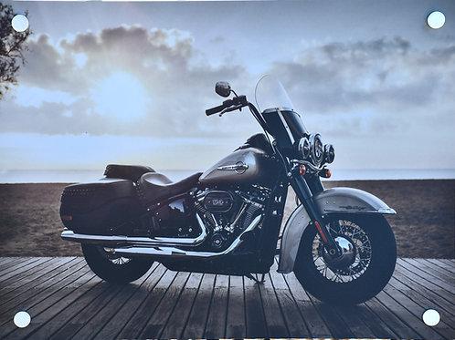 Harley Davidson Motorbike - Digital Art
