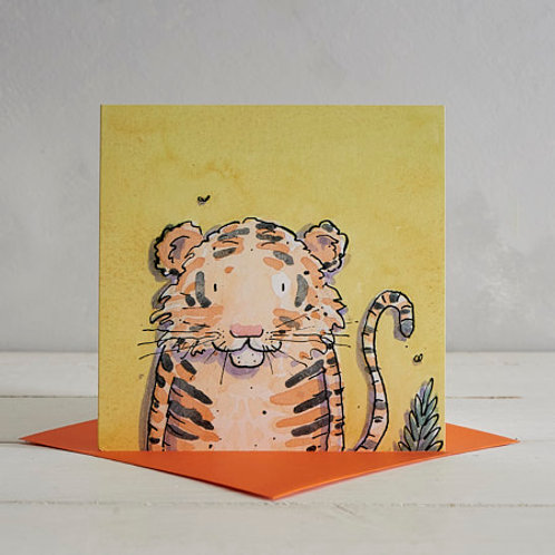 Tiger Card by Helen Wiseman
