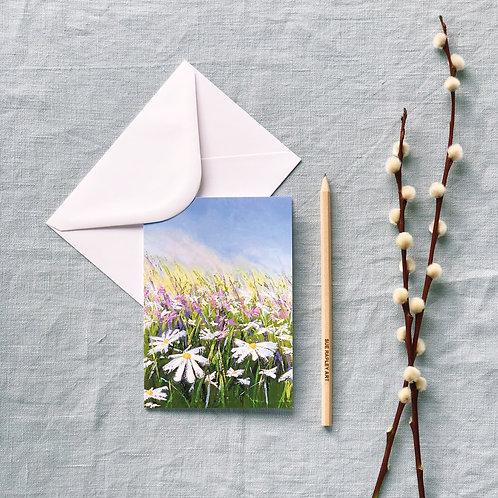 Summer Breeze Greetings Card