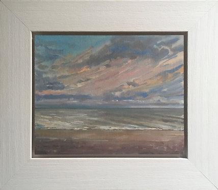 Sunset, Aldeburgh beach, Suffolk