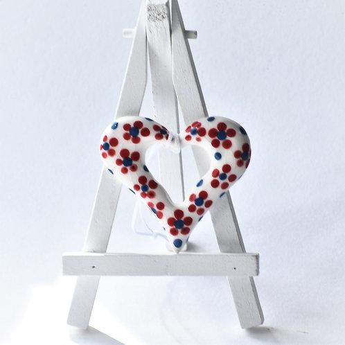 Love Heart (Blue & Red tree heart)