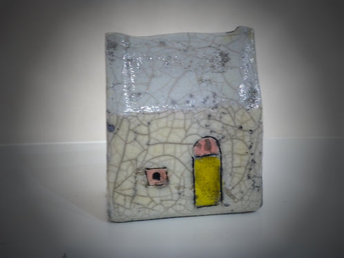 Small White Raku House