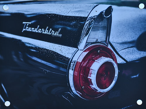 Ford Thunderbird - Digital Art