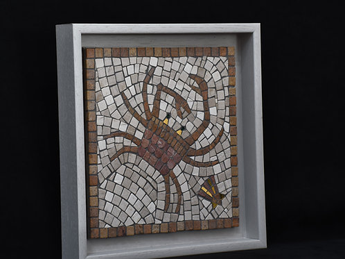 Small Crab  - Mosaic Artwork