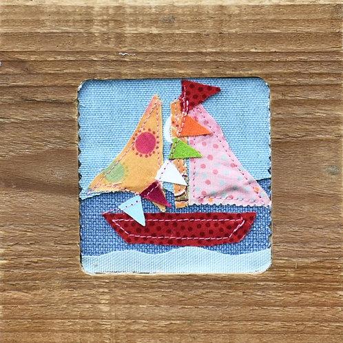 Sail boat by Mandy Swan