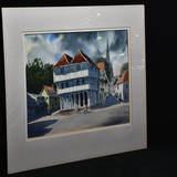 Painting of Thaxted Guildhall