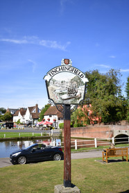 Finchingfield, home of Wonky Wheel Gallery