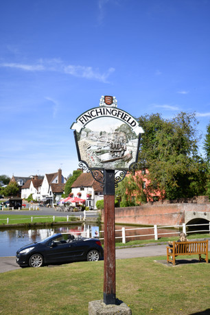 Finchingfield, home of Wonky Wheel Gallery