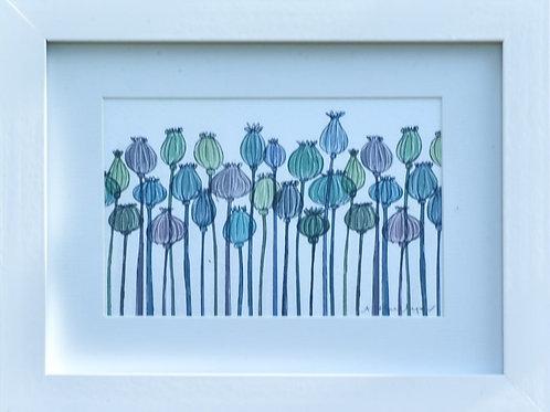 Framed Poppy Seeds
