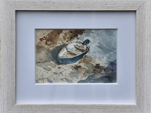 Small Cornish dingy no 2 by Helen Wiseman