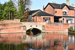 Finchingfield Pond view