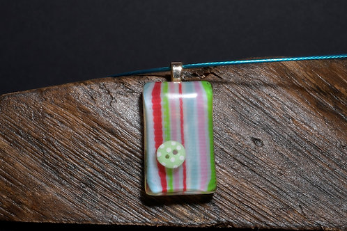 Fabric Pill - Strip fabric  with single button