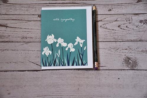 With Sympathy Iris