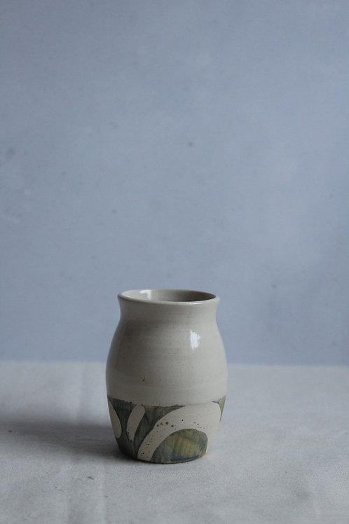 River - Stoneware Bud Vase by Kate Welton