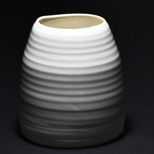 Porcelain Vase Grey