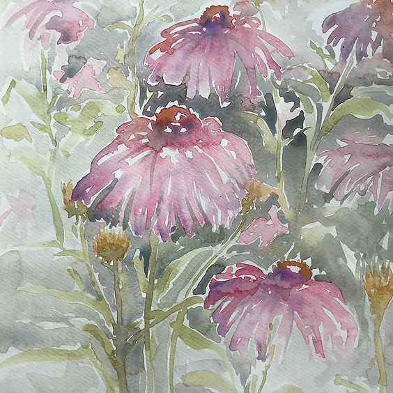 Watercolour for beginners with Louise Man