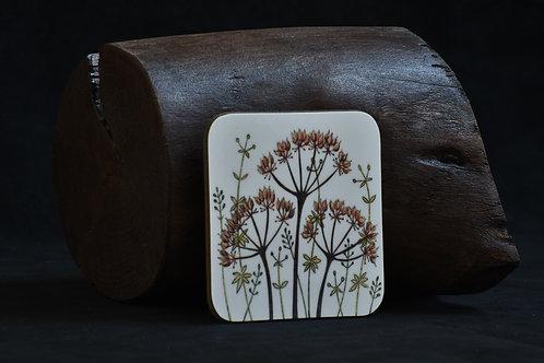 Seed Head Meadow Coaster