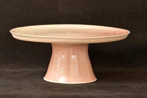 Stoneware Cakestand Pink