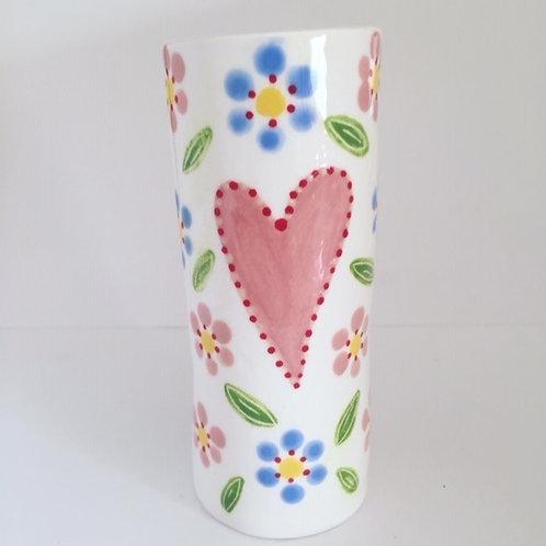 Flower Heart Vase