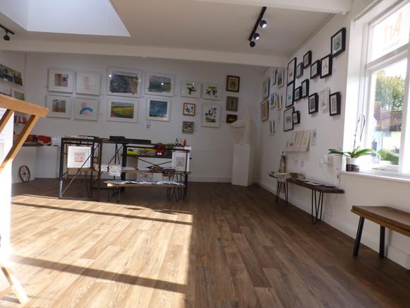 Sun in the gallery