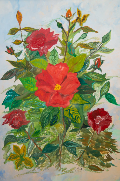 Roses by Peter Clark