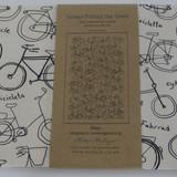 Tea Towel - Bikes Cream