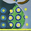 Thumbnail: Pear with 12 Yellow Dots - Painting