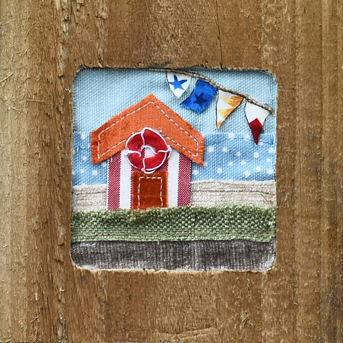Beach Hut by Mandy Swan