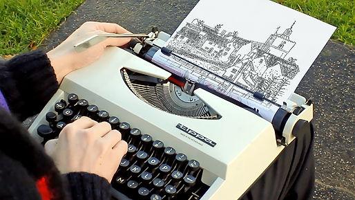 Typewriter Art of Finchingfield.jpg