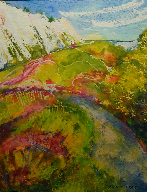 Samphire Hoe, Dover Painting