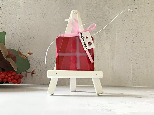 Hanging Pressies Decoration in Pink by Molten Wonky