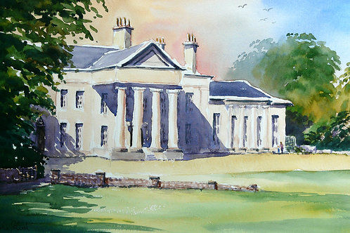 Painting of Hylands House Chelmsford