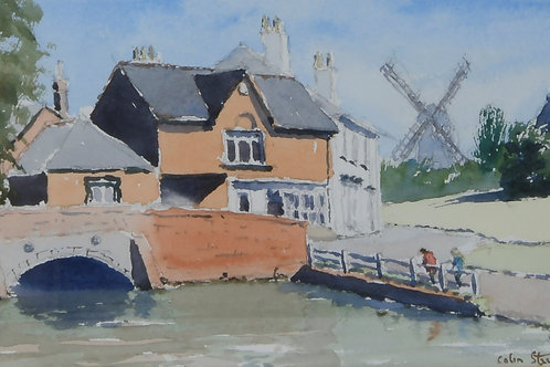 Bridge and Mill Finchingfield Painting