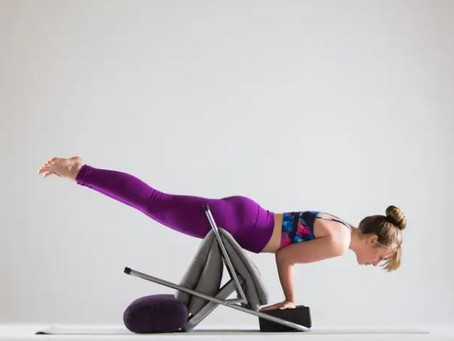 Mayurasana Made Easier: Use a Chair to Fly in Peacock Pose
