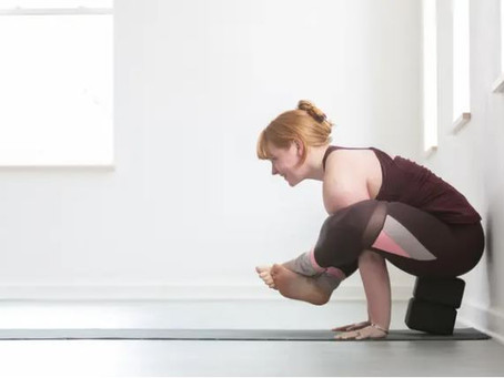 Two Propped Takes on Bhujapidasana, Shoulder-Pressing Pose