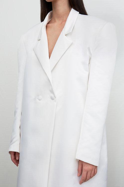 White Oversize Coat