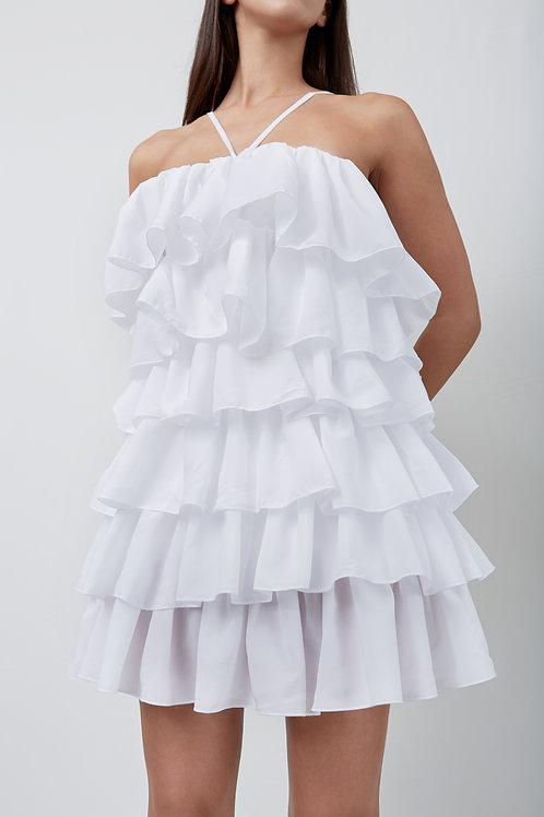Mini Flounces Dress