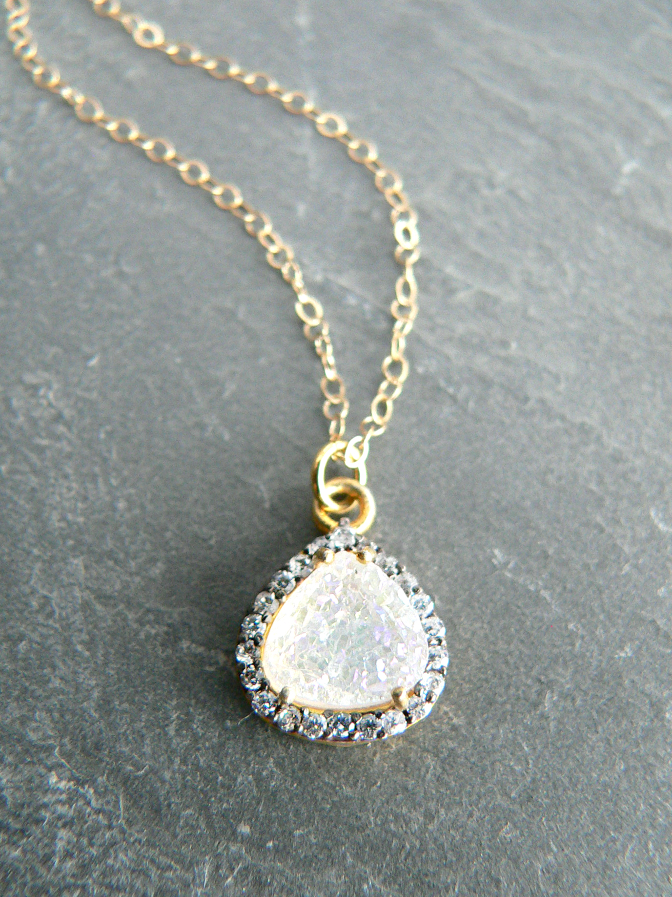 MYSTIC DRUZY NECKLACE